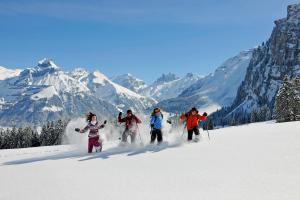 © Engelberg- Titlis Tourismus AG | Engelberg Winter Schneeschuhwandern Panorama ALDI SUISSE TOURS
