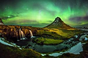 Polarlichter in Island - Sternfahrt