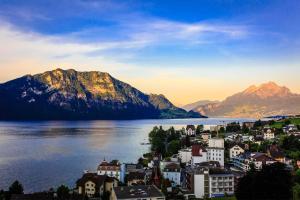 Weggis al Lago dei Quattro Cantoni