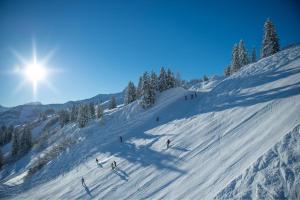 © Damüls Faschina Tourismus | Damüls Winter Sonne Skipiste ALDI SUISSE TOURS