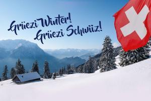 Grüezi Winter! Grüezi Schwiiz!