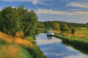 Ferien auf einem Hausboot