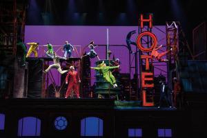 Amburgo - musical «CIRQUE DU SOLEIL PARAMOUR»