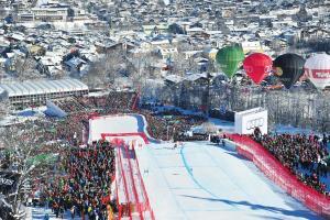 Courses Hahnenkamm Kitzbühel 2020 - circuit d'une journée