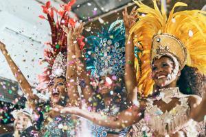Karneval in Rio de Janeiro - Kreuzfahrt Südamerika