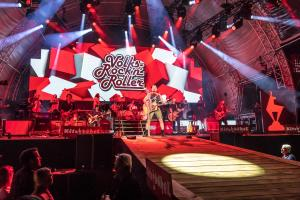 Andreas Gabalier beim Musikfestival in Kitzbühel 2020 - Carreise
