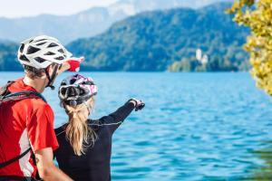 Le long de l'Adige - randonnée à vélo en Italie
