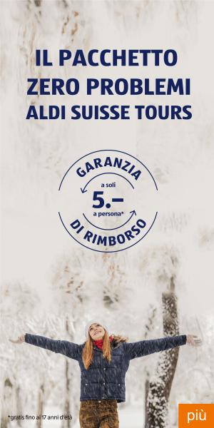 Il pacchetto «Zero problemi» di ALDI SUISSE TOURS