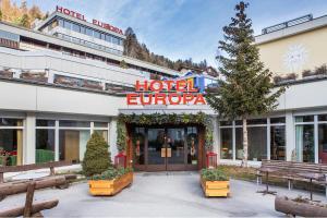 Hotel Europa, St. Moritz-Champfer