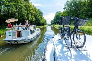 Ferien auf einem Hausboot - Burgund-Saone