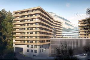 Modellbild, The Hide Apartments, Flims