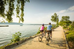 Bodensee, Aare-Ufer & Drei-Seen-Land - Velotour