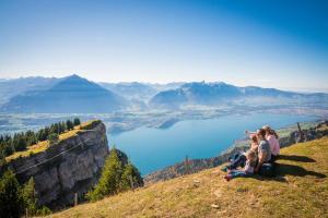 Velofahren im Berner Oberland