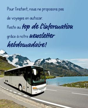 nous ne proposons pas de Voyages en autocar