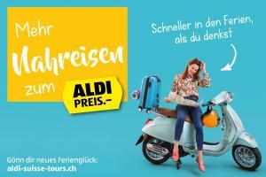 ALDI Woche KW16 - Mehr Nahreisen zum ALDI Preis