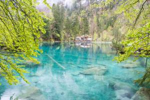Blausee in Kandergrund ALDI SUISSE TOURS