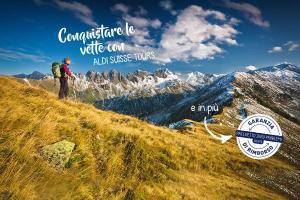 Settimana ALDI 17 - Conquistare le vette con ALDI SUISSE TOURS
