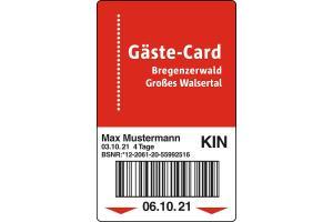 Bregenzerwald Gäste-Card ALDI SUISSE TOURS