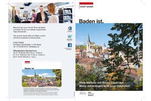 City-Ticket Baden ALDI SUISSE TOURS