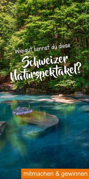 Gewinnspiel Schweizer Naturspektakel