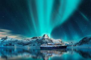 Postschiffroute in Norwegen - Kreuzfahrt