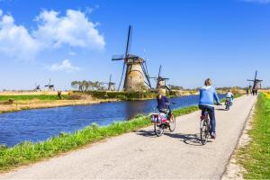 Nord de la Hollande - Vélo & bateau