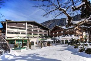 Mayrhofen dans le val de Ziller